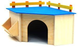 Как самостоятельно сделать домик для морской свинки
