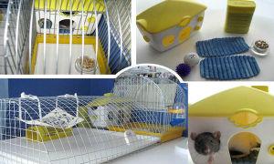 Надежная и безопасная клетка для крысы своими руками