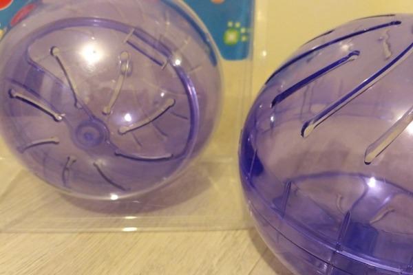 Пластиковый прогулочный шар