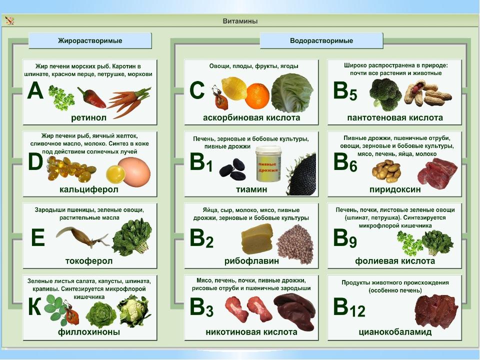 База витаминов