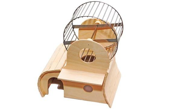 Крутой домик для хомячка