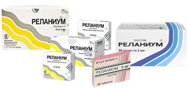 Лекарство для лечения судорог