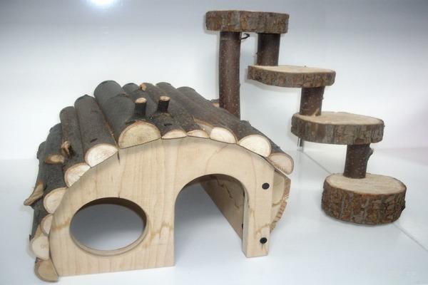 Форма домика для грызуна