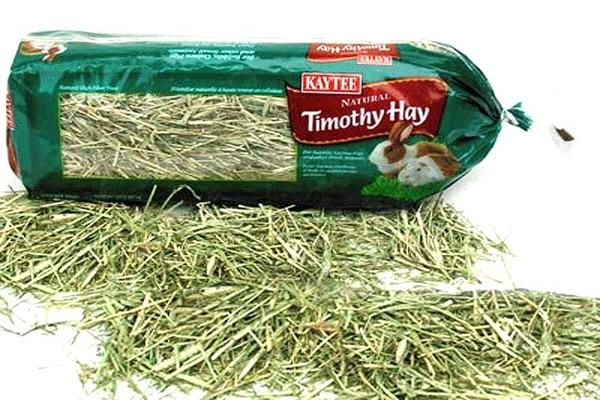 Сухая трава для домашнего питомца