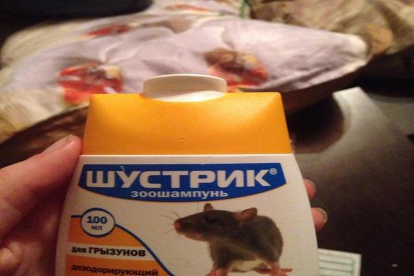 Шампунь для крысы
