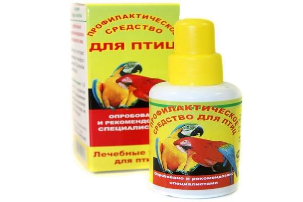 Профилактическое средство защиты от паразитов