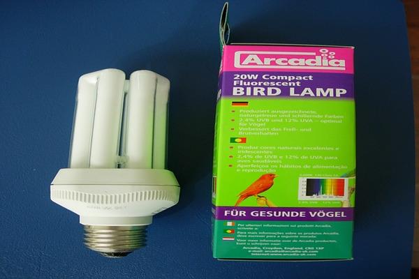 Лампы Аркадия для попугаев