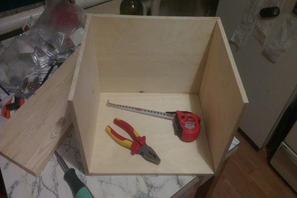 Инструменты для изготовления домика