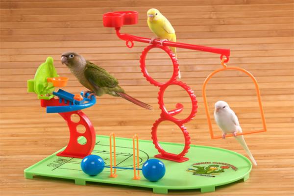 Игрушки для развлечения птиц